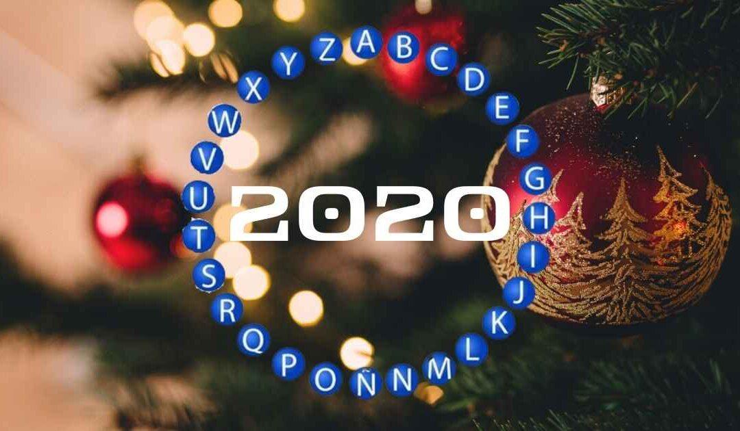 ¿Sin planes de fin de año? Dile adiós con este abecedario 2020